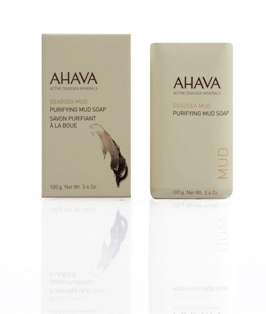 AHAVA AHAVA Bőrtisztító iszapszappan