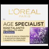 L'Oréal Paris 55+ ránctalanító arckrém