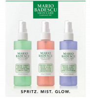 Mario Badescu Spritz. Mist. Glow. Skin Care set