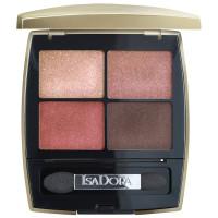Isadora Eye Shadow Quartet Golden Edition
