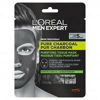 L'Oréal Paris Men Expert Tissue maszk Pure Charcoal Purifying