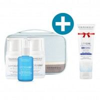 Dermedic Hydrain³ Hidratáló karácsonyi szépségcsomag