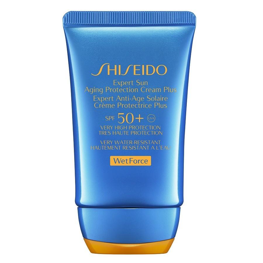 Shiseido Sun Care Expert Sun Aging Protection Cream WetForce SPF 50+