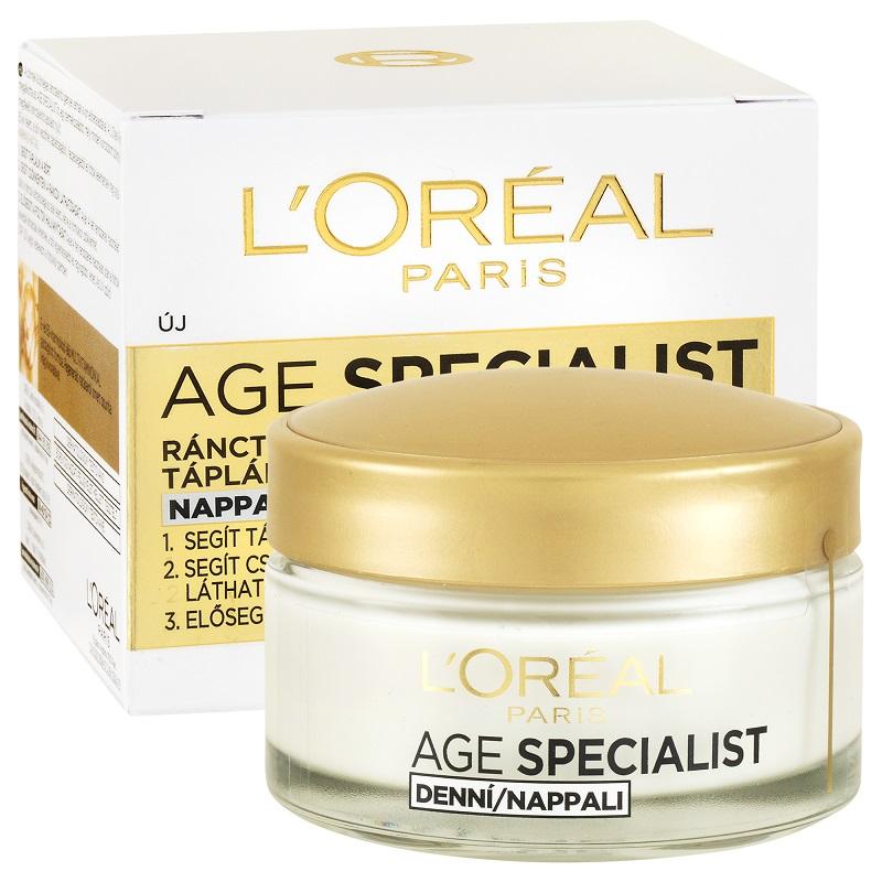 L'Oréal Paris 65+ ránctalanító arckrém Nappali arckrém..