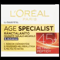 L'Oréal Paris 45+ ránctalanító arckrém