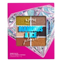 NYX Professional Makeup Diamonds & Ice Shadow Palette