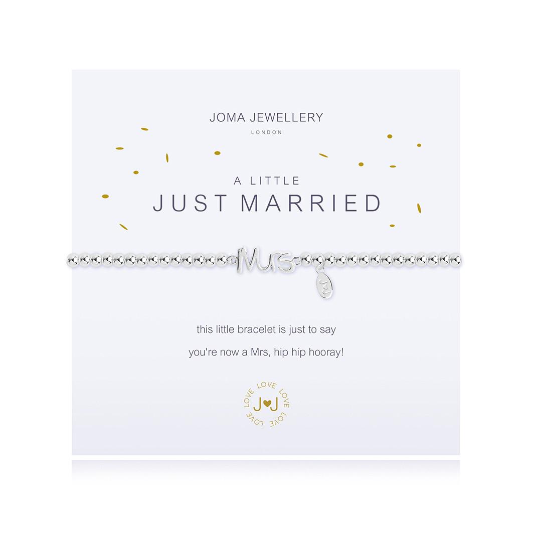 Joma Jewellery Just Married Bracelet