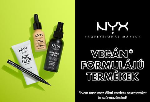 Vegán formulájú termékek