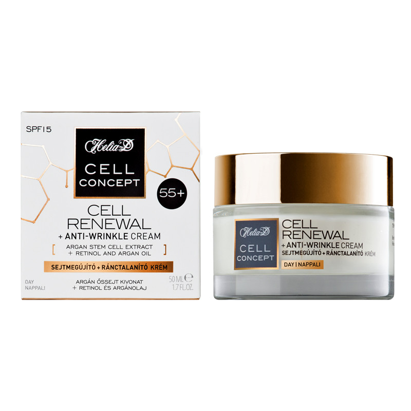 Helia-D Cell Renewal+Anti Wrinkle Cream 55+