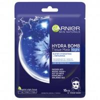 Garnier Skin Naturals textil maszk Moisture Bomb éjszakai