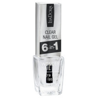 Isadora Clear Nail Gel 6-in-1