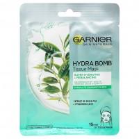 Garnier Skin Naturals textil maszk Zöld teás