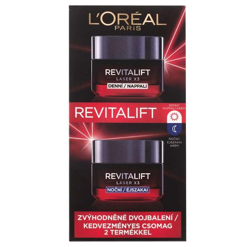 L'Oréal Paris Laser nappali+éjszakai krém szett..