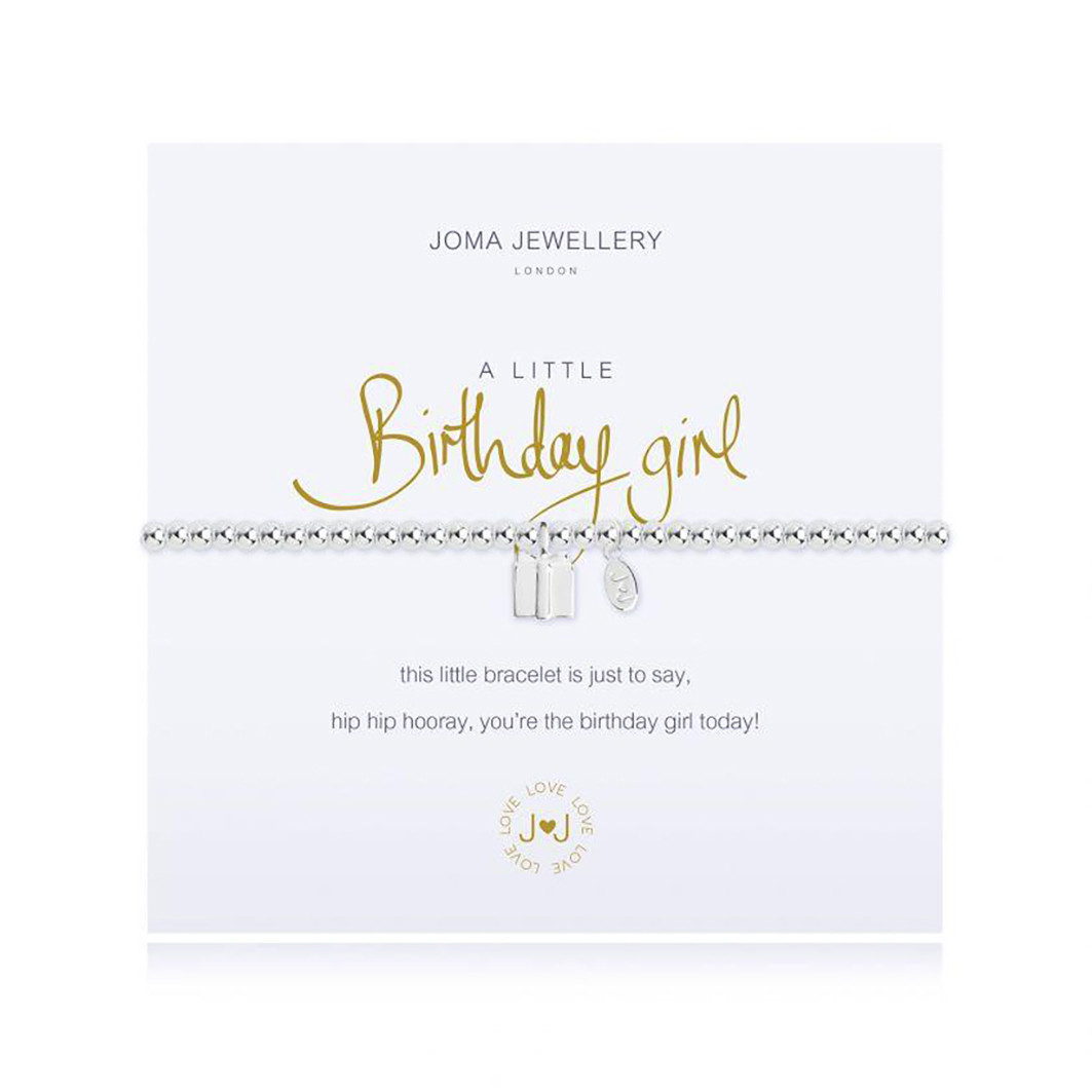 Joma Jewellery Birthdaygirl Bracelet