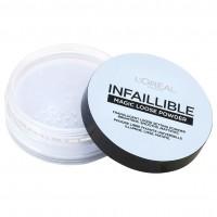L'Oréal Paris Infaillible Magic Loose Powder áttetsző fixáló púder