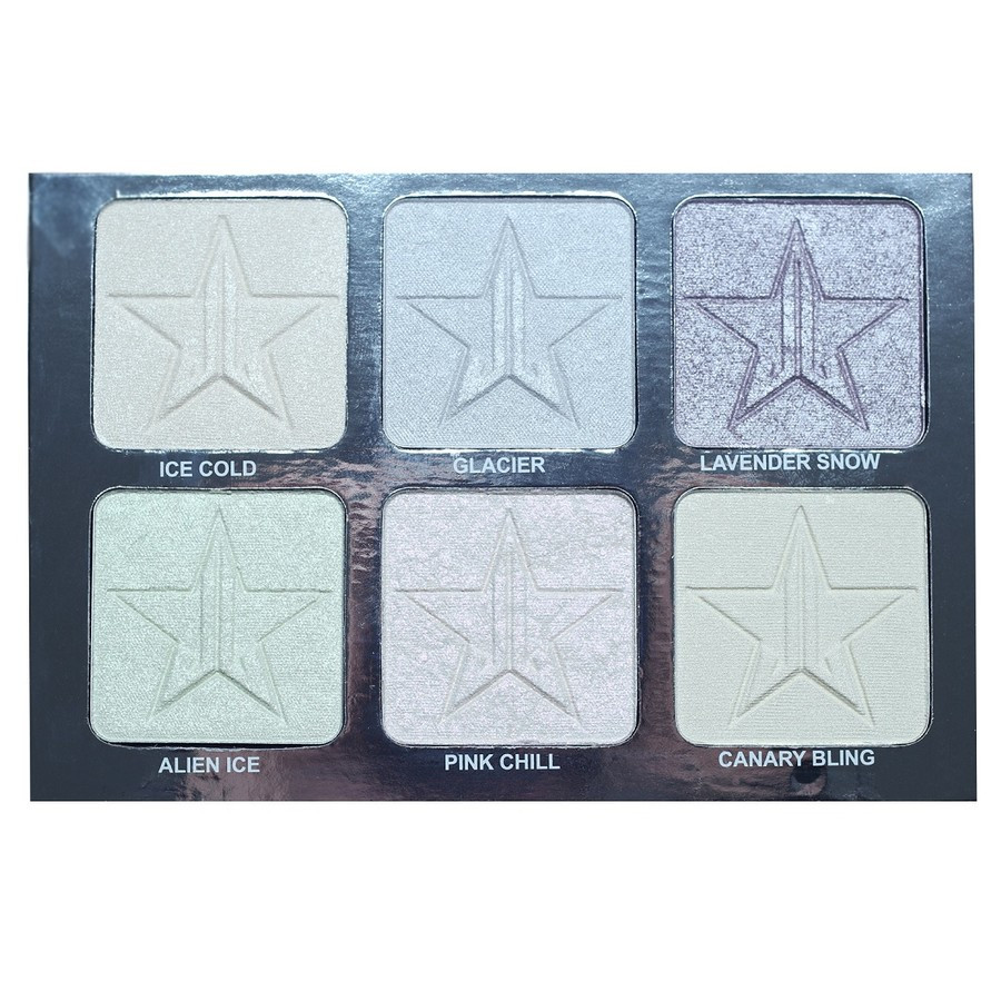 Jeffree Star Platinum Ice-Highlighter Palette