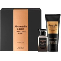 Abercrombie&Fitch Authentic Night Men EdT Set