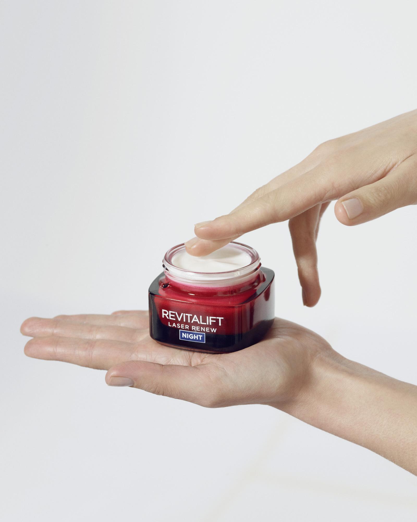L'Oréal Paris Laser X3 ránctalanító arckrém Éjszakai..