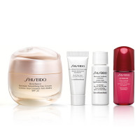 Shiseido Benefiance Wrinkle Smoothing Day Cream Set
