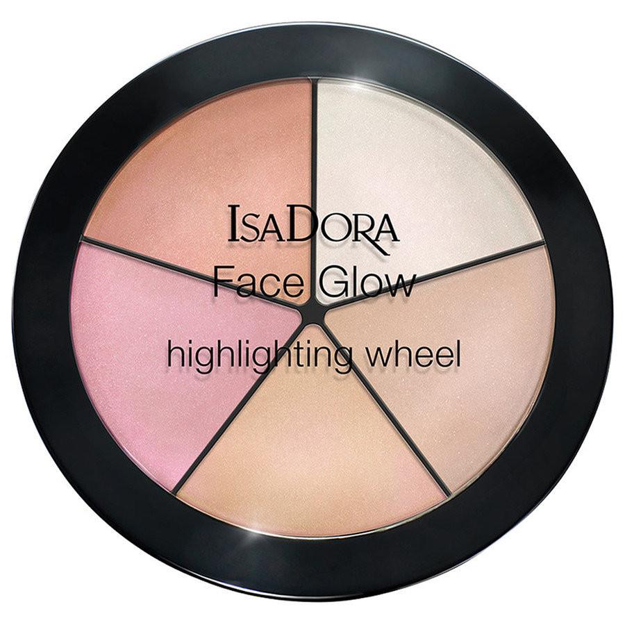 Isadora Face Glow Highlighting Wheel Champagne Glow