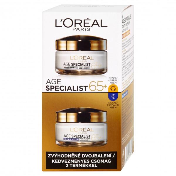L'Oréal Paris 65+ nappali éjszakai arckrém szett..