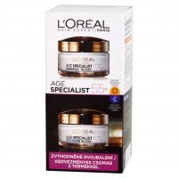 L'Oréal Paris 55+ nappali+éjszakai arckrém szett