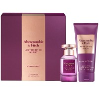 Abercrombie&Fitch Authentic Night Women EdP Set