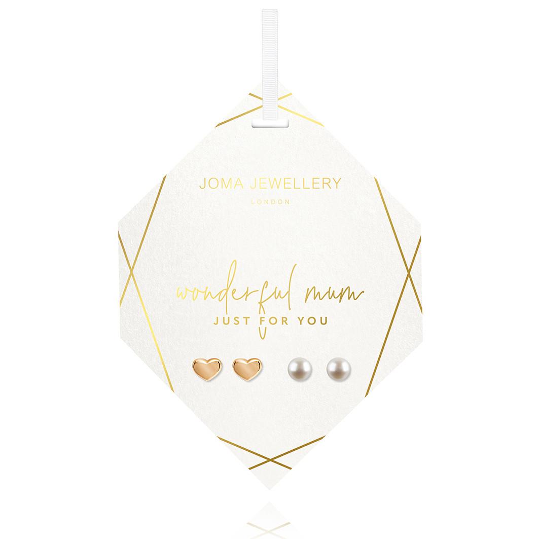 Joma Jewellery Mum Earrings set
