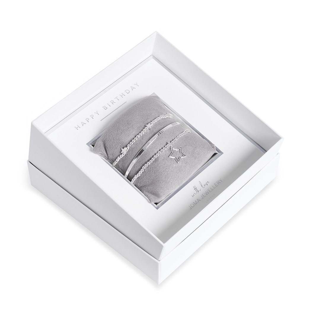 Joma Jewellery Birthday Bracelets set
