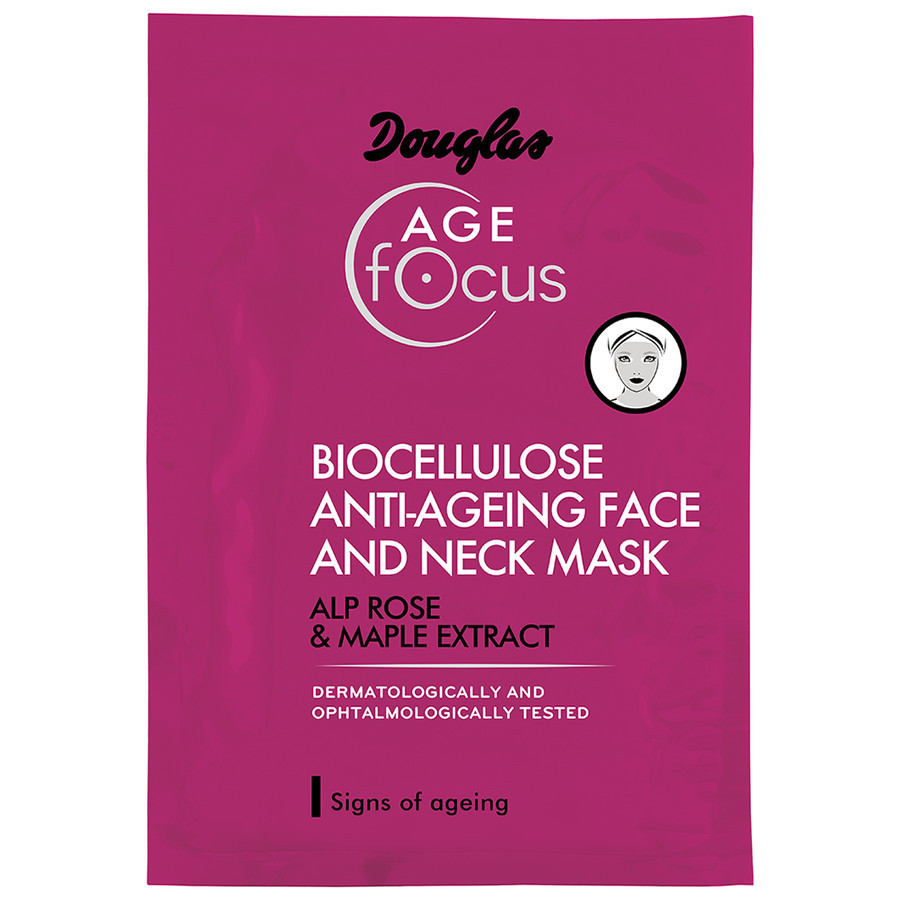 Douglas Age Focus Biocellulose Anti-Ageing Face And Neck Mask