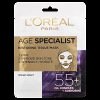 L'Oréal Paris Bőrélénkítő arcmaszk 55+
