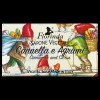 Florinda Florinda növényi szappan - Fahéj és citrus