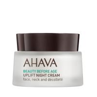 AHAVA Uplifting éjszakai krém arcra, nyakra, dekoltázsra